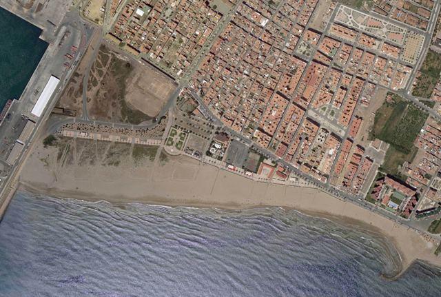 Playa de El Puerto en la Actualidad